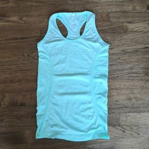 American Eagle Live Your Life Stretch Tank M  NWOT